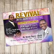 church revival flyers mt vernon baptist church 2017 revival a plus print shop