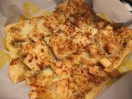 have the parmesan garlic en flatbread