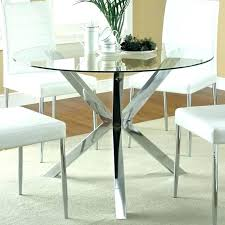 glass kitchen table sets round dining room table and 4 chairs circular dining table sets elegant