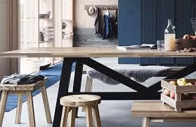 skogsta dining table 235x100 acacia wood
