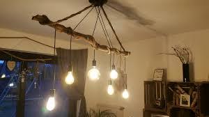 Esstischlampeglühast Handmade Ast Lampe Led Retro Neu