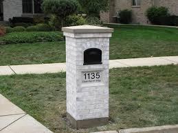 custom mailbox. Stone Columns Interior Exterior Foam Banding Custom Mailboxes Mailbox A