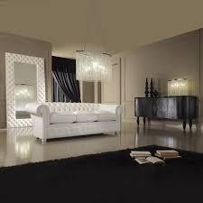 italian white furniture. Modern Italian White Leather Upholstered Mirror Furniture O