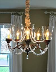 dining room brass chandelier makeover