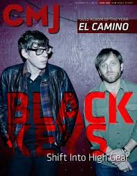 Cmjs 2012 Year End Charts Black Keys Shift Into No 1 By