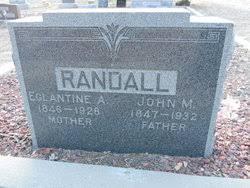 Eglantine Angelia Smith Randall (1846-1928) - Find A Grave Memorial