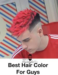 20 Best Hair Color For Guys