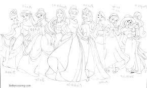 Disney Princess Coloring Pages For Kids Evanstonrocketclub