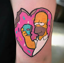 The Simpsons Yellow Tattoos And Thirty Years Of Success Tattoo Life