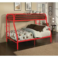 bunk beds for kids twin over full. Simple Full ACME Furniture Tritan Twin Over Full Metal Kids Bunk Bed In Beds For