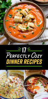 There is something so comforting to me about simmering food all day long, while it's miserable outside. 17 Dinner Recipes Cozier Than Your Bed