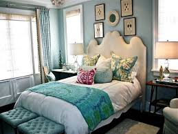 White And Teal Bedroom Ideas