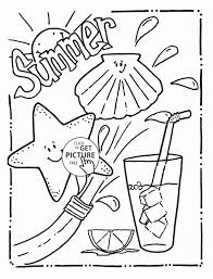 Small Picture Coloring Pages Free Printable Summer Coloring Pages For Kids