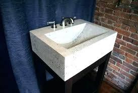 diy concrete countertops over laminate white concrete bathroom featuring white concrete over laminate bath white concrete