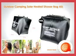 outdoor solar shower bag camping solar shower bag