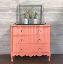 nc wood furniture paint. Divine Dressers In Custom Mix Of Persimmon \u0026 Coral Crush Nc Wood Furniture Paint