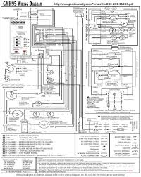 goodman heat pump wire colors thermostat wiring diagram on package outstanding air handler