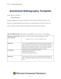 Annotated Bibliography Template Shayla Tracey Annotated Bibliography 19 C456 Studocu