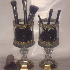 brush holder beads. makeup brush holder beads
