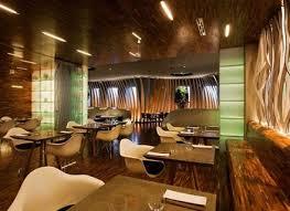 creative restaurant lighting with antique wall art decor