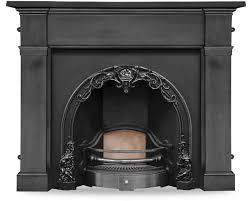 cherub cast iron fireplace inserts