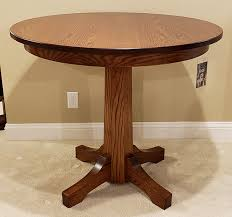 pinnacle oak pub table 42 round