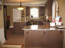 Granite Kitchen Flooring Chicago Brick Flooring With Granite Counter Tops Brick Tile