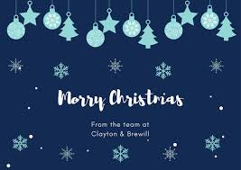 Merry Christmas Christmas Office Hours Clayton Brewill