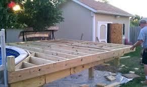 above ground pool decks diy build above ground pool build a deck around an above ground