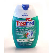 dentifrice theramed dentifrice 2 en 1 eucalyptus 75 ml
