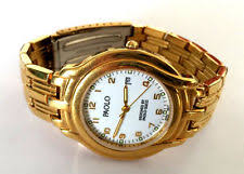 paolo gucci watch gold tone paolo designed by paolo gucci wrist watch new battery runs no crystal
