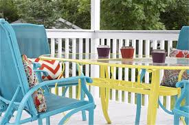 attractive painting patio furniture diy upcycled deck furniture accessories exterior design concept