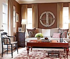 what colors go with brown brown furniture wall color