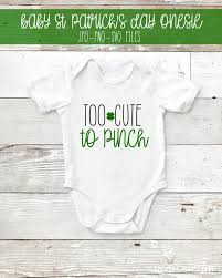 They were cute for pictures but the quality of. St Patricks Day Onesie Free Svg File Create Craft Love