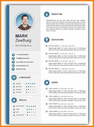Cv Template Download Word Resume Templates Doc Latest Resume Format