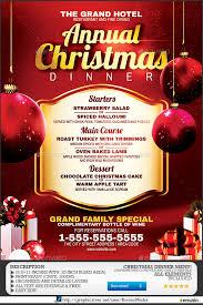 christmas dinner poster christmas dinner flyer under fontanacountryinn com