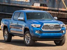 2017 Best Resale Value Awards: Mid-Size Pickup Truck