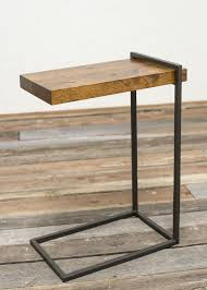 adjustable c table. Interior And Furniture Design: Picturesque C Shaped End Table Of Union Rustic Sharleen Wayfair Adjustable