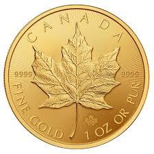Buy 1 Oz Canadian Gold Maple Leaf Gold Coins U S Money Reserve