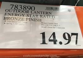 altair lighting al 2152 outdoor led lantern costco weekender altair deal for the at out full