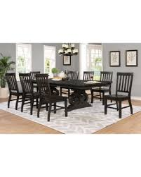 best quality dining room furniture. Best Quality Furniture 9-Piece Rustic Cappuccino Dining Set, Brown Best Quality Dining Room Furniture F