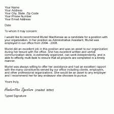job recommendation letter samples letter of recommendation examples and writing tips employee for