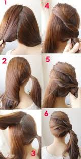 hairstyle daily hairstyles for easy hairstyles for long hair step by step step by step