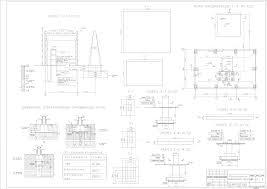 Курсовые работы Фундаменты и основания Чертежи РУ Курсовой проект Проектирование фундаментов производственного цеха промышленного предприятия 1 но этажное 1