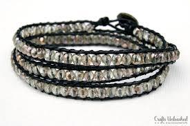 beaded diy wrap bracelet crafts unleashed 2