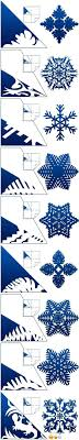 How to make paper snowflakes. 25 Ways To Cut Out Snowflakes Diys Tutorials Free Templates