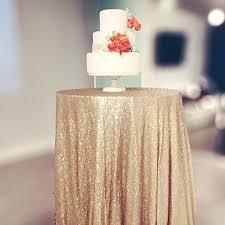 shinybeauty sequin tablecloth glitz sequined table linen 108inch round matt gold