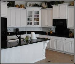 off white kitchen cabinets with black countertops.  White Wonderful White Kitchen Cabinets With Black Countertops More Design  Httpameliefairleycom To Off P