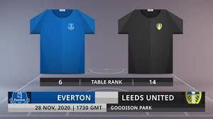 Match Preview: Everton vs Leeds United on 28/11/2020 - video dailymotion