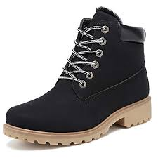 KARKEIN Ankle Boots for Women Low Heel Work ... - Amazon.com